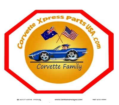 YOUR CORVETTE FAMILY PARTS SUPPLIER, NOT THE BIGGEST BUT THE BEST